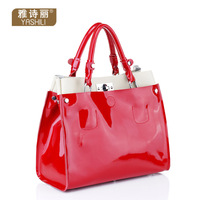 classic fashion cowhide thick cowhide mmobile women's handbag bag 2077,free shipping