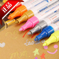 oil marker Paint marker pen TOYO paper mark paint car bike glass mark pen many colors 20pcs wholesale hk post free shipping