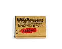 Lot of 5 5pcs new High Capacity Battery EB494353VA For SAMSUNG GALAXY MINI S5570 Dart T449 WAVE 52 free shipping