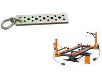 Pulling tools of chassis repair machine