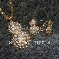 Buy 2 get 1 free, Christmas' Jewelry  Austrian Crystal Jewelry, Calabash Shape Jewelry Set