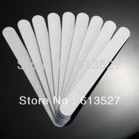Free Shipping - 50PCS / Lot Grey Straightnail Nail File Buffer Buffing Manicure Tool - 100/180