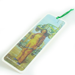 Cultural revolution posters exquisite beautiful bookmarks school supplies birthday gift single(China (Mainland))