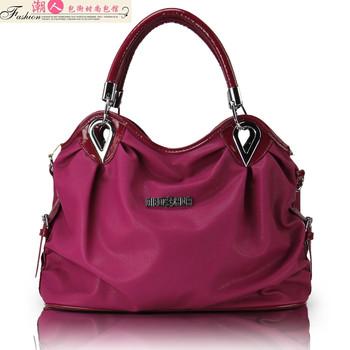 2012 women's handbag shoulder color candy color bag