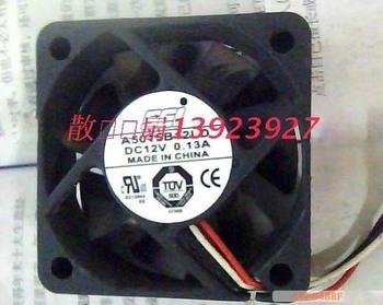 SEI 5015 A5015B12LD 12V 0.13A 3Wire Cooling Fan