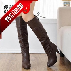 2013 new style boots Fashion sexy long boots back strap(China (Mainland))