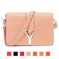 2014 Y word of the new retro messenger bags candy color Shoulder Messenger bag Korean women packet m99