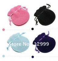 100PCS/lot Free Shipping Velvet Gift Bag Amazing Color Flexo Bags Beautiful Wedding/Holiday/Christmas/New Year Gift Accessories