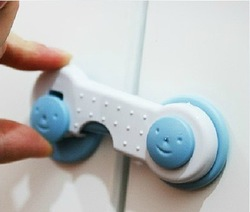 Baby Safety Lock for Cabinet Door Free Shipping(China (Mainland))