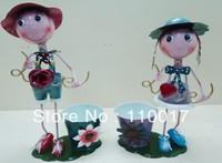 free shipping china mail post metal iron crafts/metal dolls/decor arts