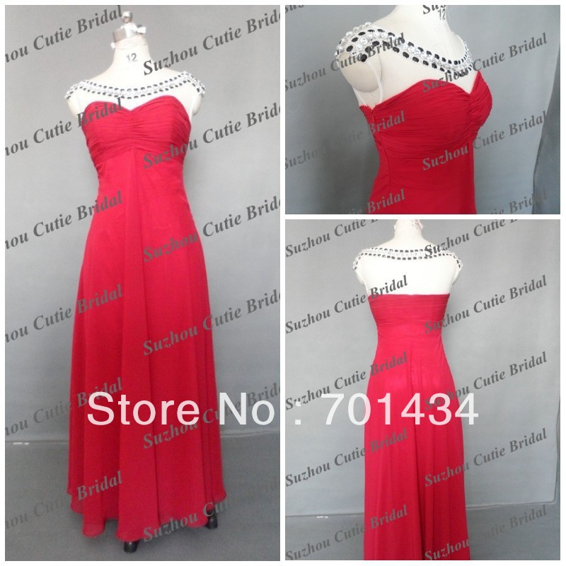 AS034 2013 New Style Custom made beautiful evening dresses(China (Mainland))