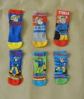 Fireman sam socks, 30 pairs/lot