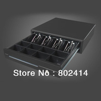 CS CMK-410 POS Cash Drawer with 5 Bills 8 Coins and 3 Position Locks