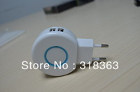 Hot selling 3pcs dual USB car charger 5V2.1A USB car charger for iphone/ipod/mobile phone EB-IPUC203