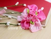 Free Shipping,Wholesale(36 pcs/lot) Cute Flower Pattern Cloth Little Girls' Hairgrips/Hair Ornament/Kids'  Hairwear