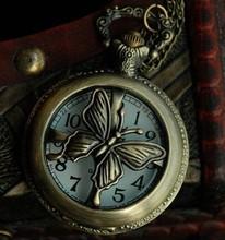 butterfly pocket watch necklace price