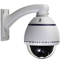 10x ccd camera Mini speed dome 127address settings can be selected,multi protocol decoder, high definition integrated