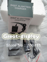 Free shipping+1PC Sample,New wall+car charger adapter MH-24 for EN-EL14 Battery Nikon D3100 D5100 P7000