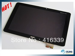 "100% new For 10.1"" 1280X800 Acer Iconia Tab A510 B101EVT04 V.0 LCD Display Screen Replacement(China (Mainland))"