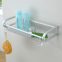 Free shipping solid aluminum shelf bathroom storage shelves shower rack storage holder bathroom accessories