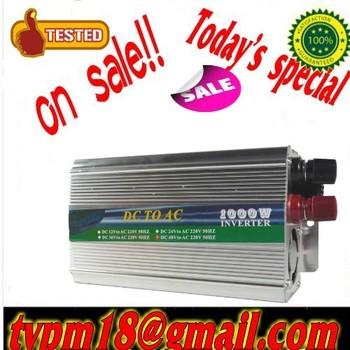 2000W Watts Peak Real 1000W 1000 Watts Power Inverter 12V DC to 240V AC + Free shipping