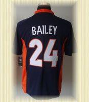 Arrived New Denver Football Jerseys 24 Champ Bailey Blue Orange White 2012 Game Jerseys