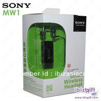 Genuine Sony MW1 Smart Wireless Bluetooth Headset Pro FM Radio MP3 Player Caller ID Display