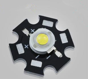 Great quality Aluminum Mini 3W High Power LED Light with heat sink plate