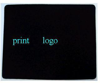 500pcs print logo advertising mouse pad / customized mouse pad / custom mouse pad(China (Mainland))