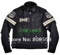 2012 new SCHOTT 08107W jacket Oxford professional racing Jacket motorcycle Jacket black DA-679 ertyy