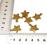 Antique Bronze Alloy Charms or Pendant Pentagram Star for DIY Jewelry Findings Handmade Case Necklace Bracelet Accessory 8PCS