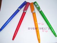 free shipping Ballpoint pen pull paint brush advertising pen unisex pen logo @@