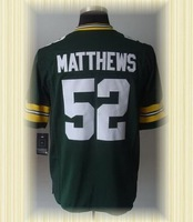 Arrived New Green Bay Football Jerseys 52 Clay Matthews Green White 2012 Game Jerseys