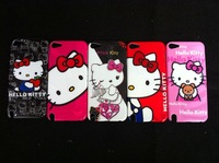 for ipod touch5 case , mix color diamond hello kitty hard case For ipod touch 5 5th ,100pcs/lot,Free shipping by EMS