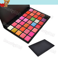 Professional Cosmetic Makeup 35 Color Gorgeous Lipsticks Lip Gloss Palette Free Shipping 6367