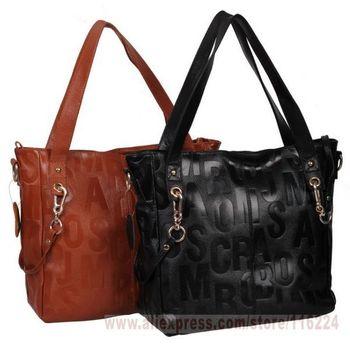 New Arrived casual popular handbag genuine leather shoulder bag fashion office bag  VB98