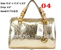 High Quality Women Glossy Handbags  Cylindrical bags Pillow pack