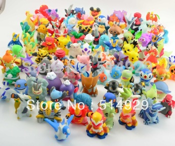 48pcs Pokemon Pikachu Action Figures 2-3cm to worldwide robot toys