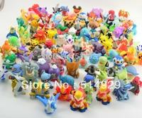48pcs Pokemon Pikachu Action Figures 2-3cm to worldwide robot toys