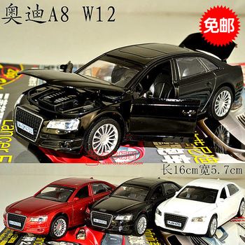 Plain 4 open the door AUDI a8 alloy car model toy q7