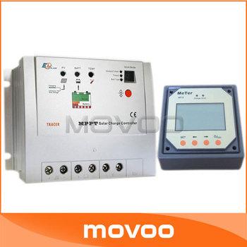 10A Tracer-1210RN MPPT solar controller charger DC12v 24v solar panel power regulator With MT-5 LCD display Remote Meter #010080