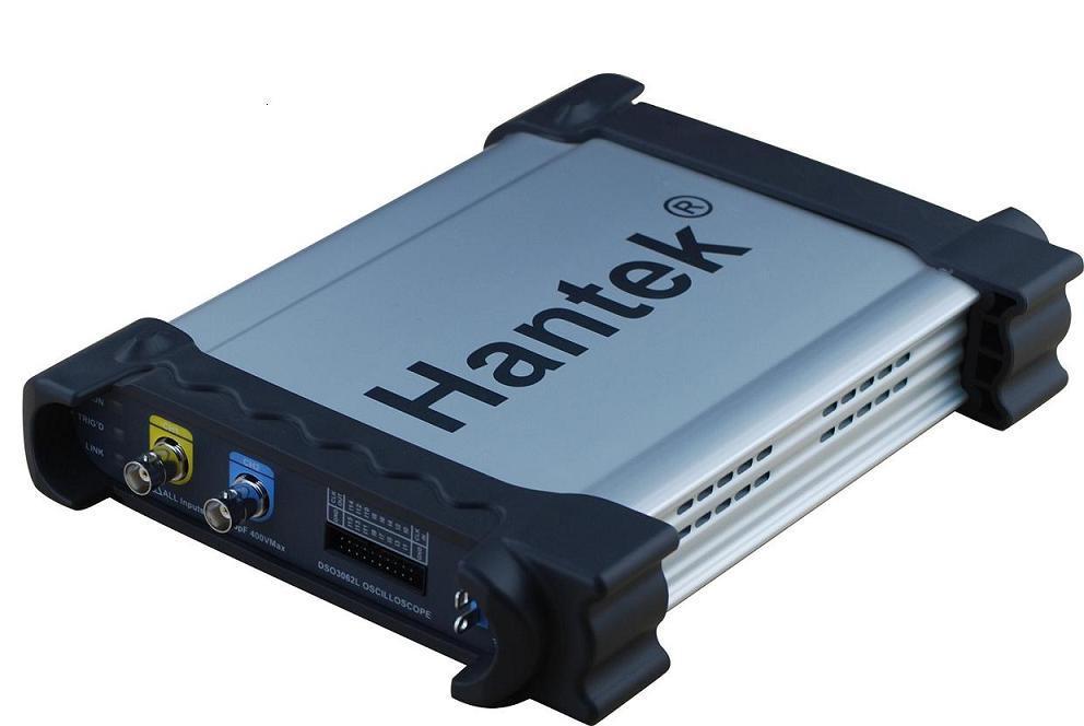 Генератор сигнала Hantek DSO3062L 60 2Channel, Pc Usb hantek 6022be pc based usb digital storage oscilloscope 2channels 20mhz 48msa s