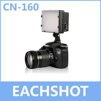 Nanguang CN-160, CN 160 LED Video Camera Light DV Camcorder Photo Lighting 5400K For Canon Nikon Free Shipping
