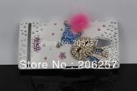 DIY arrogant bunny stickers drilling case for Sony Ericsson LT22i