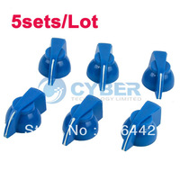 5sets/Lot Guitar Blue Chicken Head Knobs/ Guitar Parts Free Shipping TK0253
