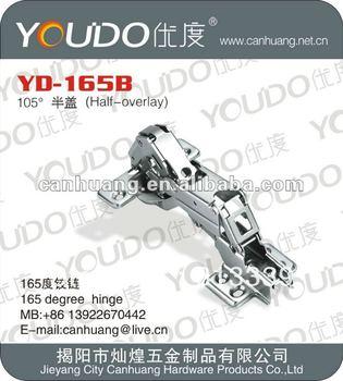 165 degree cabinet hinge (YD-165B)