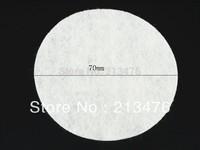 200/PC pcs Felt 70mm Circle Appliques - White Free Shipping