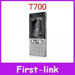 Unlocked Original Sony Ericsson T700 Cell Phone GSM Quad band 3G Bluetooth Email FM Mp3 One year warranty FREE SHIPPING(China (Mainland))