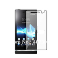 Anti-scratch clear LCD Screen Protector for Sony Xperia U ST25i with Retail Package 10pcs/lot free shipping