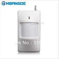 2012 Hot selling wireless alarm PIR sensor detector IP-907 with long detect distance(CE certificate) + free shipping